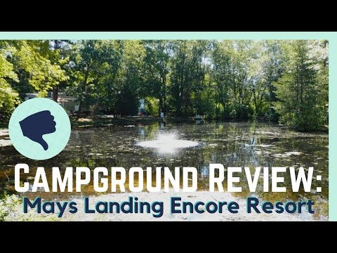 Mays Landing Campground Review || Full Time RV Living