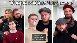 RÉUNION PARENTS PROFS... QUAND T'ES CON - NINO ARIAL (Feat MICHOU, MORGAN VS, MALCOLM, SACHA SMILE)