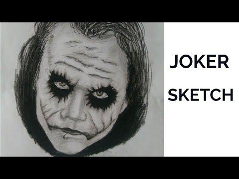 THE BEAUTIFUL SKETCH IF JOKER# USHA MORWAL thumbnail