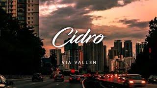 Via Vallen - Cidro (lirik).