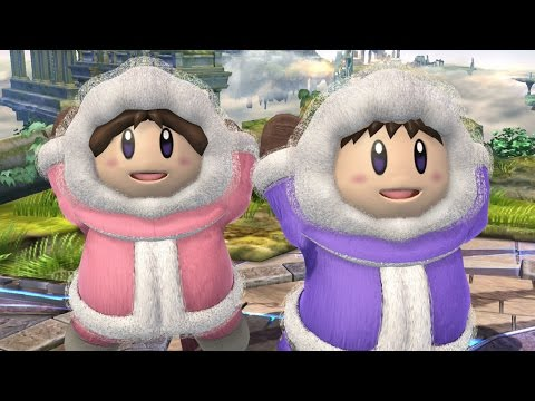 ICE CLIMBERS IN SMASH 4! (Super Smash Bros. Wii U Mod Showcase)