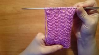 #Вязание: Простой+ узор+ спицами.  Knitting Pattern/ 41