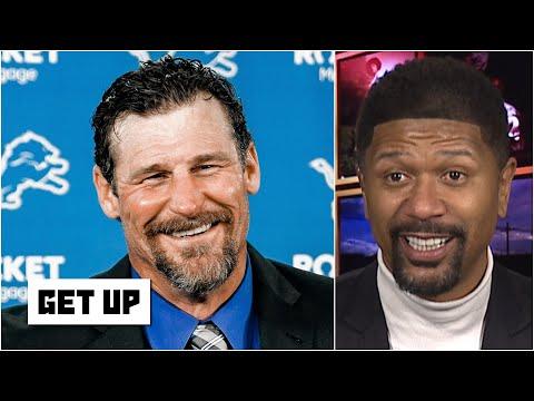 Lions fan Jalen Rose's passionate reaction to Detroit hiring new coach Dan Campbell | Get Up