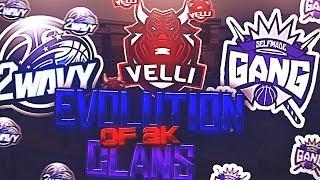 EVOLUTION OF NBA 2K CLANS (NBA 2K15 - NBA 2K19)