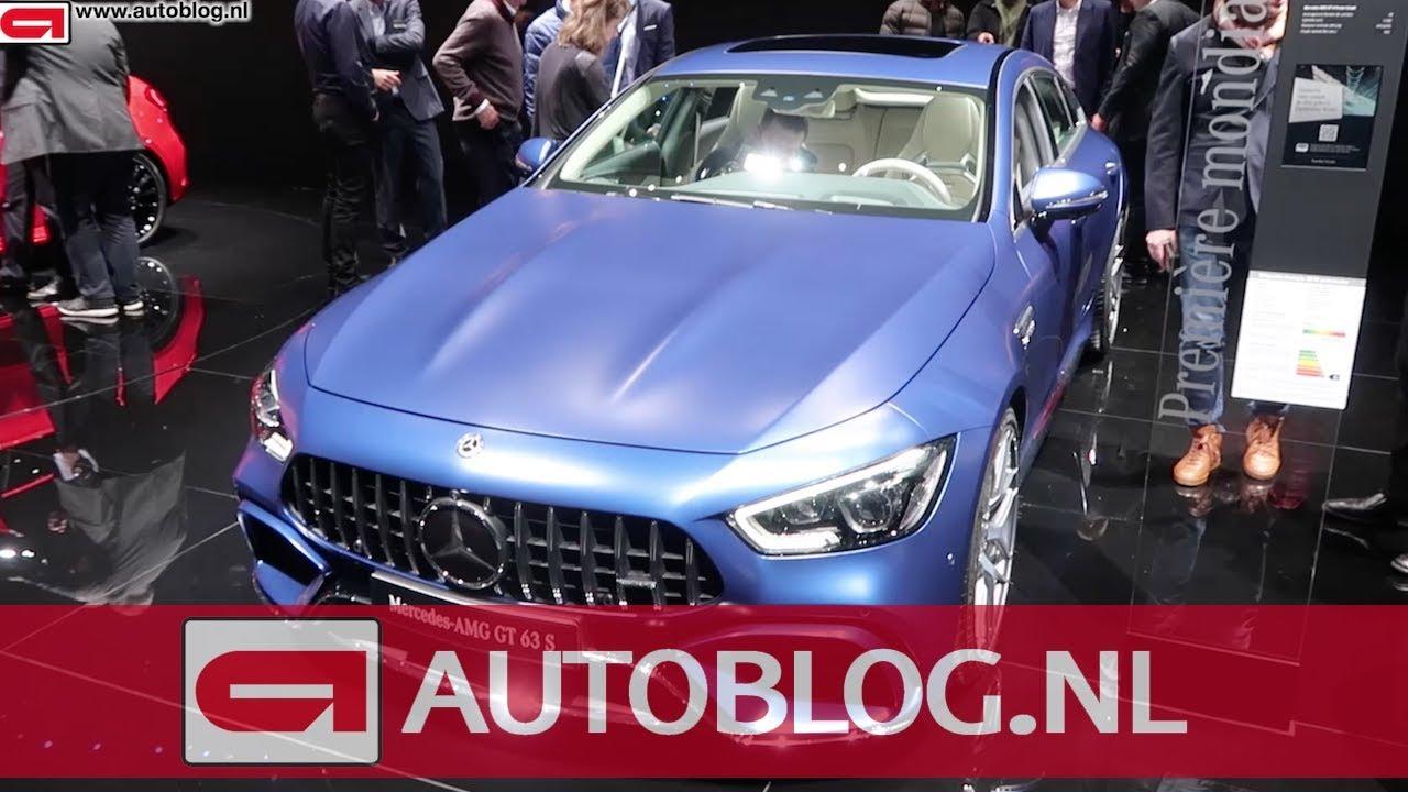Dit Is De Nieuwe Mercedes Amg Gt Coupe Youtube