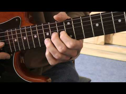 Cours de guitare - Metallica: solo de Enter Sandman  (1/8) Présentation, partie A1