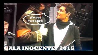 Abraham Mateo conoce a Michael Jackson | Gala Inocente Inocente 2015 | (28/12/2015)