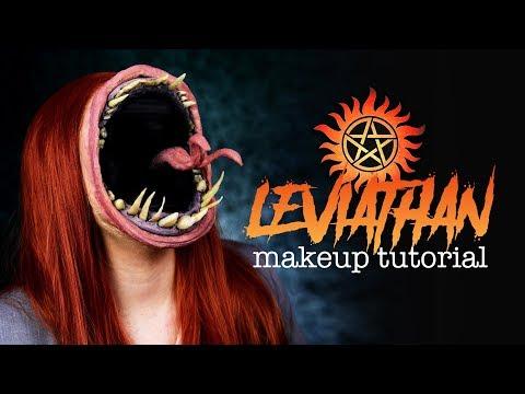 LEVIATHAN - Supernatural FX Makeup Tutorial (deutsch) |#spooktober