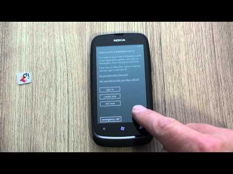 Nokia Lumia 610 hard reset