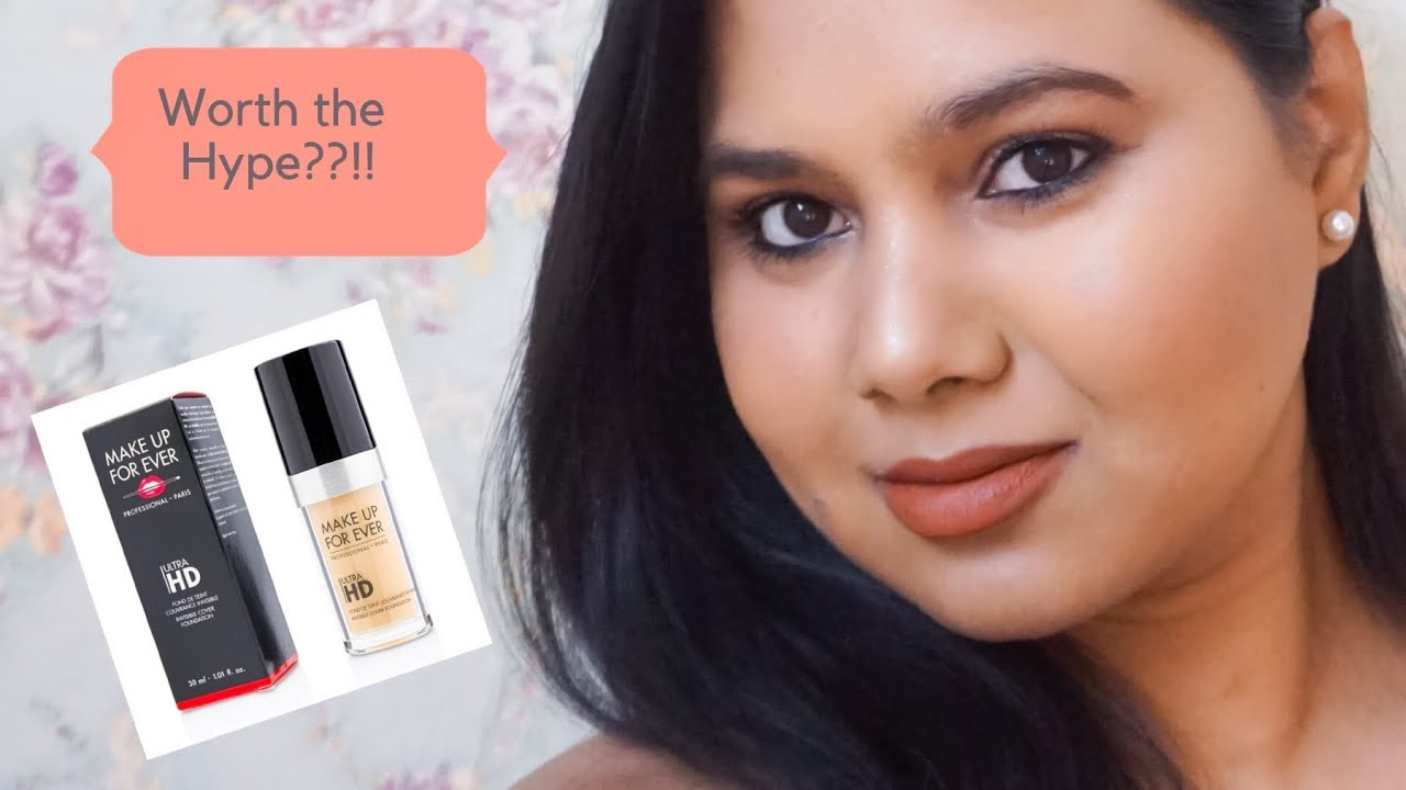 YouTube Made me buy | Makeup Forever Ultra HD Foundation Review | Indian Olive Skin