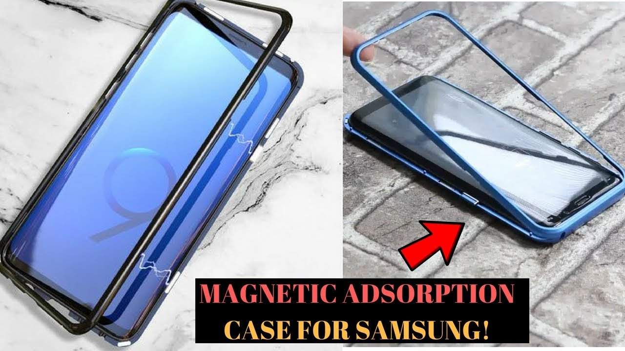 Magnetische Schutz-hülle Aus Gehärteten 9h Schutzglas Für Huawei Smartphones Magnetic Adsorption Case For Samsung Galaxy S9 S8 S9 Plus S8 Plus Magnetic Case For S8 S9