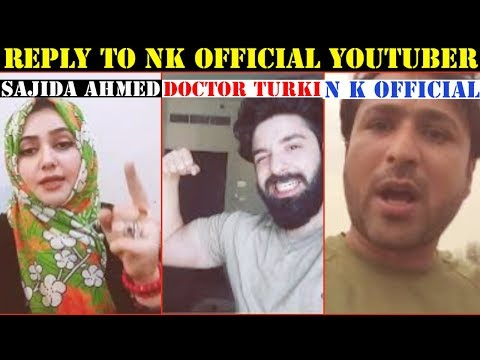 Reply To N K Official Pakistani Youtuber Hindustani Bhau Kabhi Mat Sochna