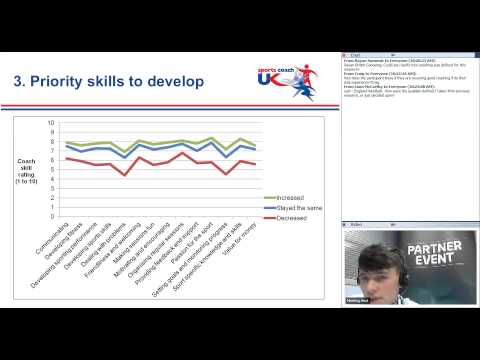sports coach UK Partner Event Webinar: Coaches and their Impact on Participation Research