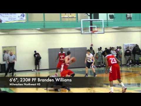 2013 PF Branden Williams Milwaukee Hamilton HS