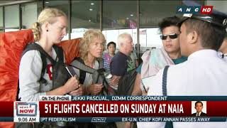 #WalangBiyahe: Aug. 19 cancelled flights due to excessive delays