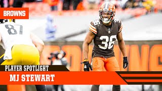 Player Spotlight: MJ Stewart | Browns Live