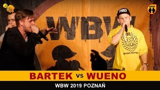 Wueno  Bartek  WBW 2019 Poznań (1/8) Freestyle Battle