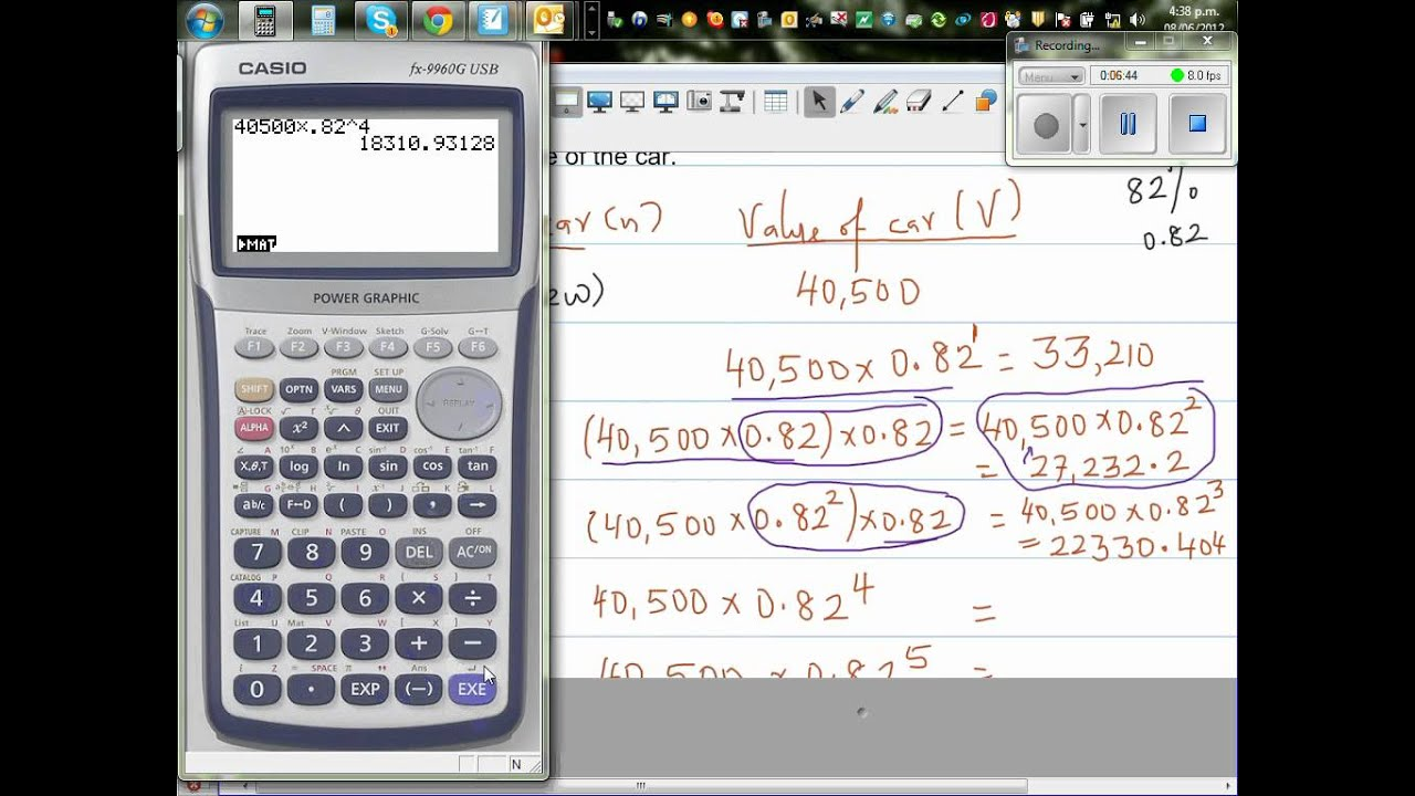 Car Depreciation Calculator >> Of Year For A Car To Depreciate From 40 500 To 14500 18