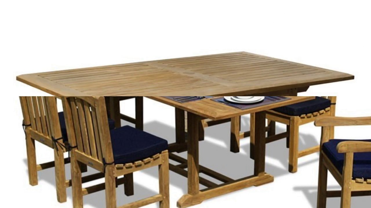 Teak Wood Dining Table And Chairs Furniture Designs