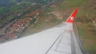 Take Off Lion Air JT 162 Soekarno Hatta to Singapore