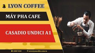 Máy pha cafe Casadio | Kinh doanh mở quán cà phê pha máy Espresso