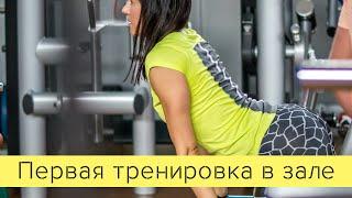 Первая тренировка в тренажерном зале(, 2015-08-02T15:31:52.000Z)