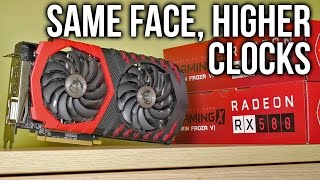 MSI RX 580 Gaming X 8G Review (vs RX 480) - Spotting The Difference