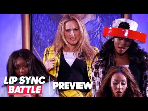 "Alicia Silverstone Revisits ""Clueless"" for ""cy"" by Iggy Azalea  Lip Sync Battle P"