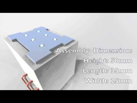 Solenoid Driven Mechanical Braille Actuator