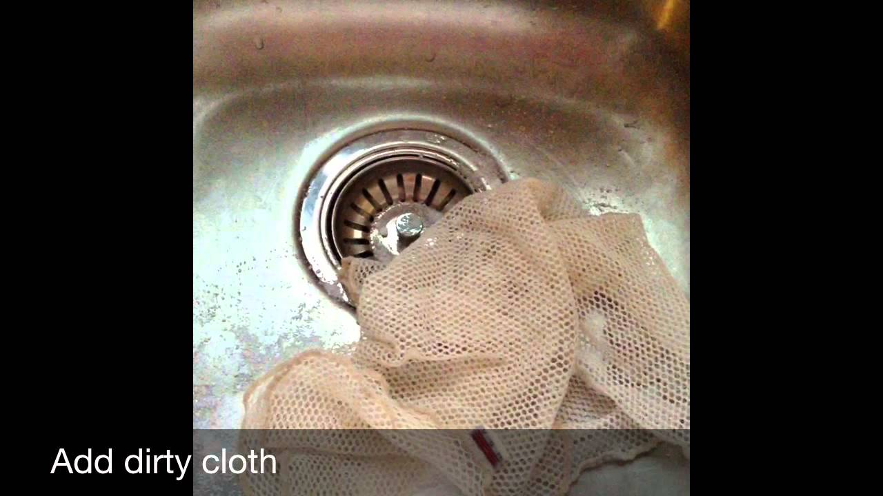 How To Norwex Dish Cloth Netted Cleaning Youtube