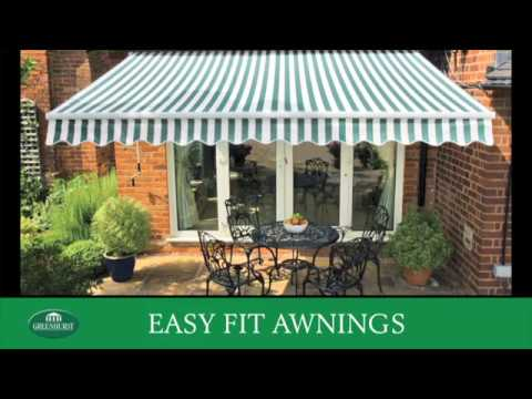 GREENHURST PATIO AWNING | Screwfix
