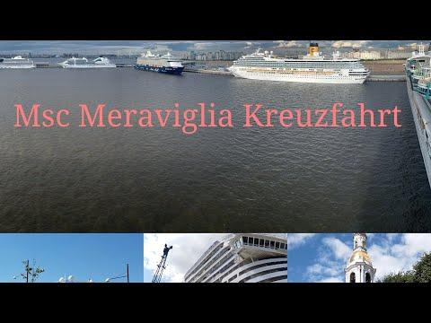 Meine Erste Msc Kreuzfahrt!!! Vlog 1 (Msc Meraviglia Kreuzfahrt vom 22.6.-29.6.19)