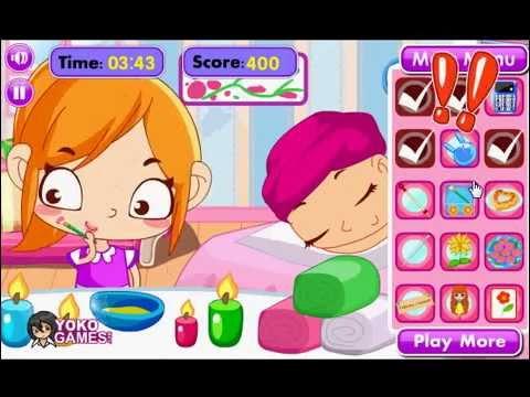 Game giết thời gian tại salon spa - Làm việc riêng
