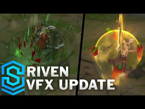Riven Visual Effect Update - All Affected Skins Comparison | League Of Legends thumbnail