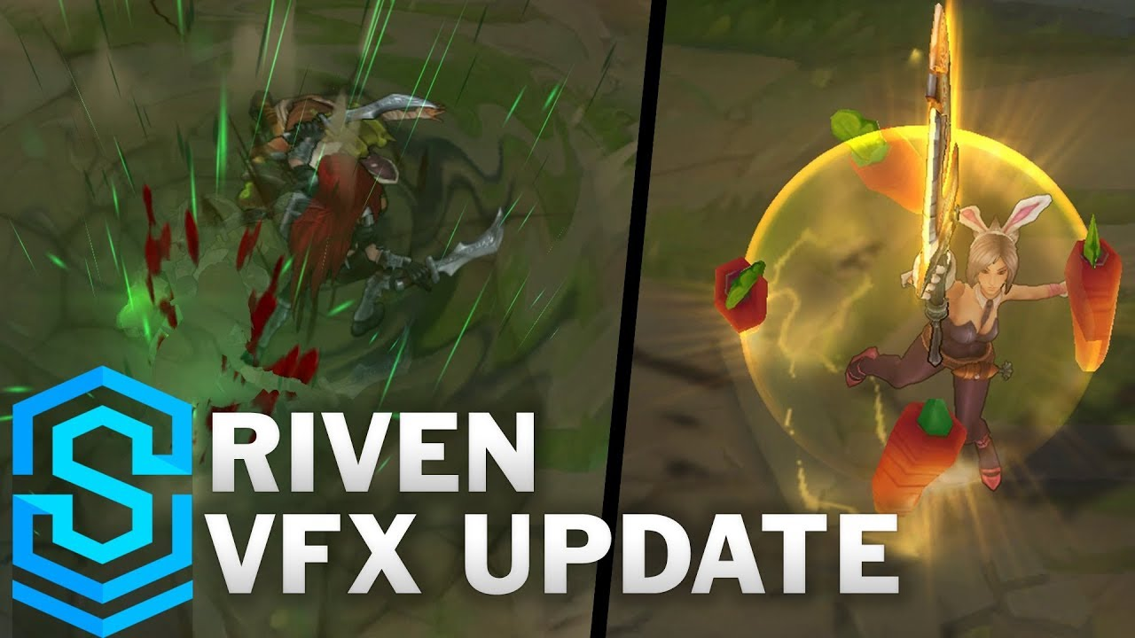 Riven Visual Effect Update - All Affected Skins Comparison | League Of  Legends