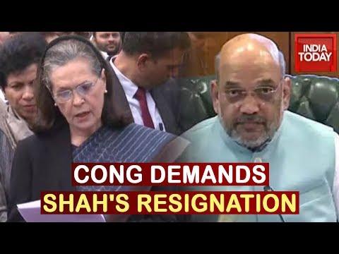 """Centre, Delhi Govt Failed To Act; Amit Shah Should Resign"": Sonia Gandhi"