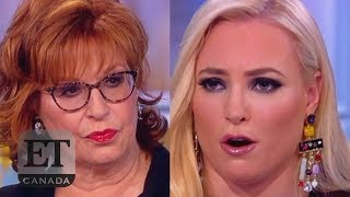 Joy Behar Fights With Meghan McCain Backstage