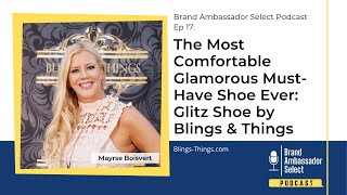 The Most Comfortable Glamorous Must-Have Shoe Ever: Glitz Shoe by Blings & Things