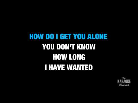 Alone in the Style of Heart karaoke  with lyrics no lead vocal