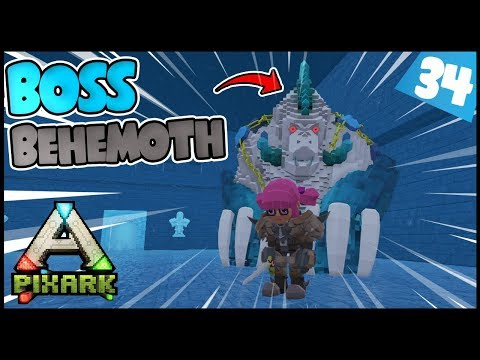 SUSAH!!! LAWAN BOSS BEHEMOTH TERSUSAH!! - Pixark Indonesia - #34 - 동영상