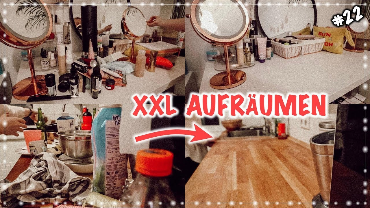 xxl aufr umen und putzen vlogmas 22 i meggyxoxo youtube. Black Bedroom Furniture Sets. Home Design Ideas