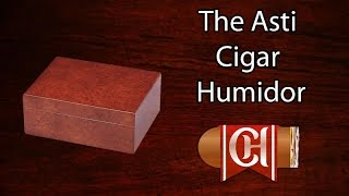 The Asti Cigar Humidor