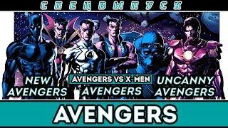 Спецвыпуск - Мстители (Avengers, New Avengers, Avengers Vs. X-Men, Uncanny Avengers)