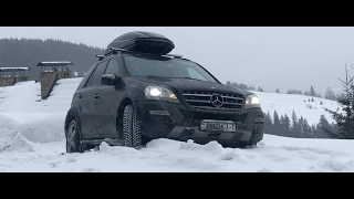 Обзор Mercedes Ml350 CDI (W164 Рестайл)