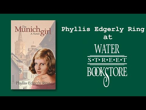Phyllis Edgerly Ring at Water Street Bookstore