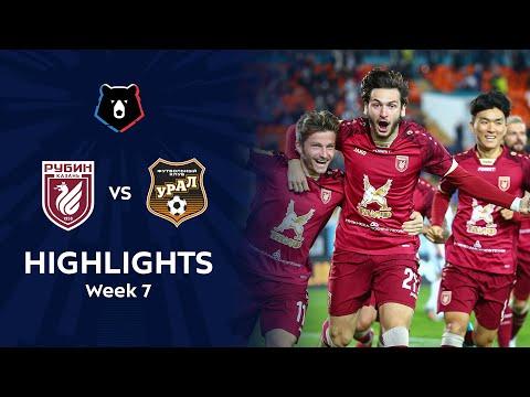 Rubin Kazan Ural Goals And Highlights