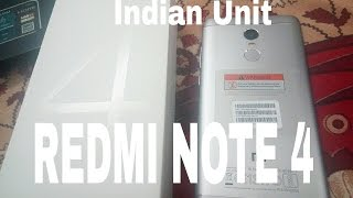 HINDI| Redmi Note 4 India Unboxing & First Look