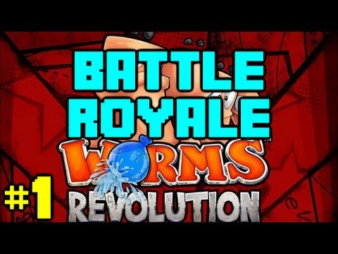 Worms Revolution Battle Royale - Game 1 |