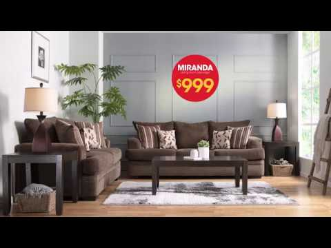 Bob S Furniture Living Room Packages For Only 999