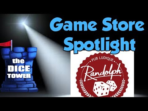 Game Store Spotlight - Randolf Pub Ludique Montreal, QC